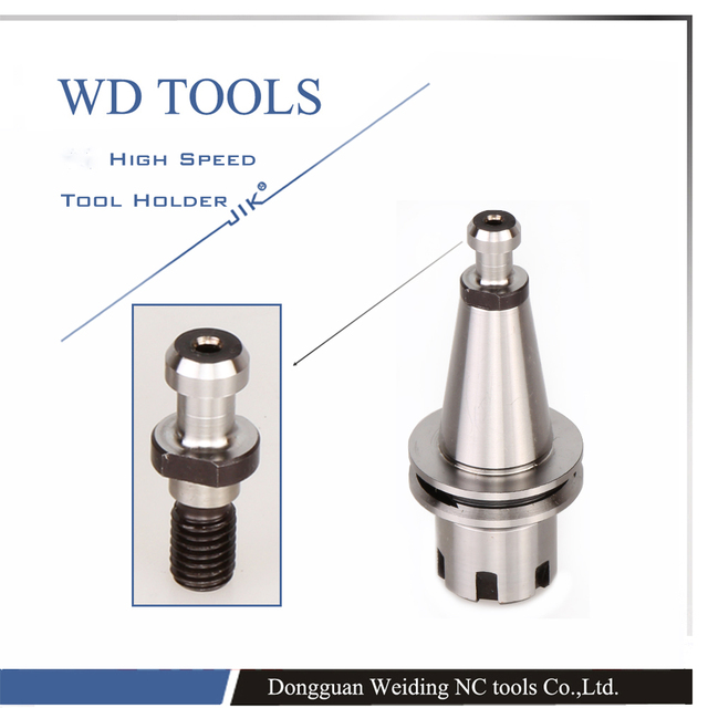 ISO20 ER16-30 Balance Collet Chuck G2.5 30000RPM CNC Tool Holder Stainless Steel With Pull Stud Milling Lathe