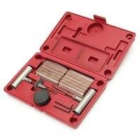 35pcs Car Van Vehicle Wheel Tubeless Tyre Puncture Repair Kit Tire Tools Plug Emergency
