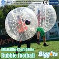 ENVÍO Gratis Casual Partido de Fútbol inflable bola de parachoques Inflable Bola de Hámster Humano 1.5 M Fuera de Juguete de Bolas