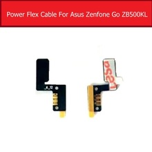 100% Genuine Volume & power Flex Cable For Asus Zenfone Go ZB500KL X00AD side key button Switch flex cable replacement repair