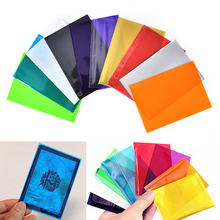 100PCS Backs Card Sleeves Cards Protector For Board Game Cards 10 Colors