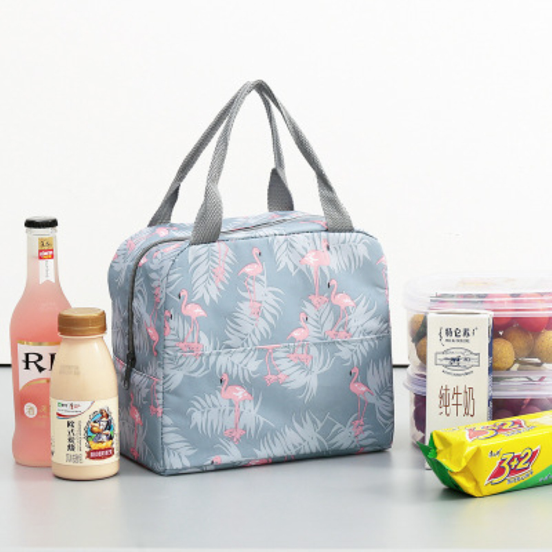 Baby Feeding Supplies Picnic Bag Portable Waterproof Insulated Canvas Handbag Children Kids Hot Food Storage For Baby Feeding