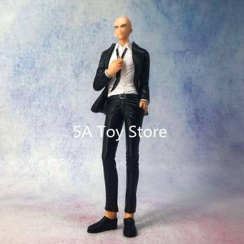 One Punch Man Suit Saitama PVC Figure Collectible Model Toy Retial Box 19cm 1