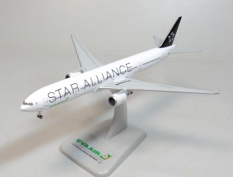 1:500 EVA AIR 777-300ER HOGAN EVA Star Alliance B-16701 1 400 jinair 777 200er hogan korea kim aircraft model