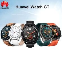 Oryginalny Huawei Smart watch GT z GPS monitorowania tętna inteligentny pasek sportowy tanie tanio Passometer Uśpienia tracker Naciśnij wiadomość Tętna Tracker Budzik Chronograph Kompas Wiadomość przypomnienie Oświetlenie