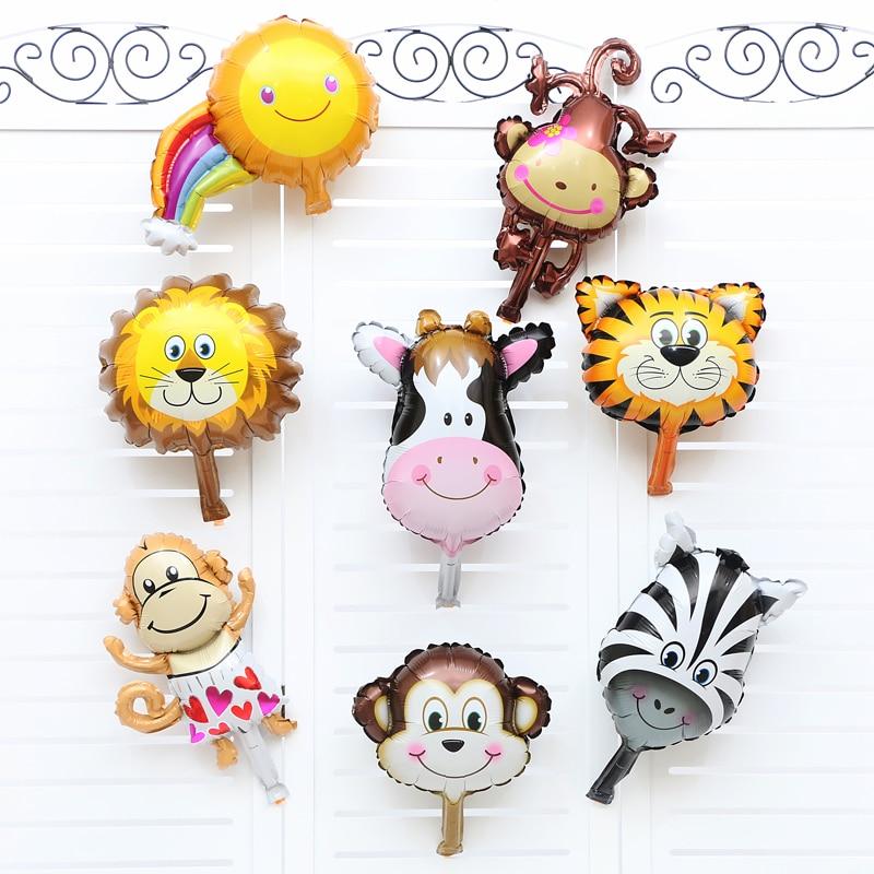 DIY Wall Stickers Monkey Animal in the Zoo Self-adhesive