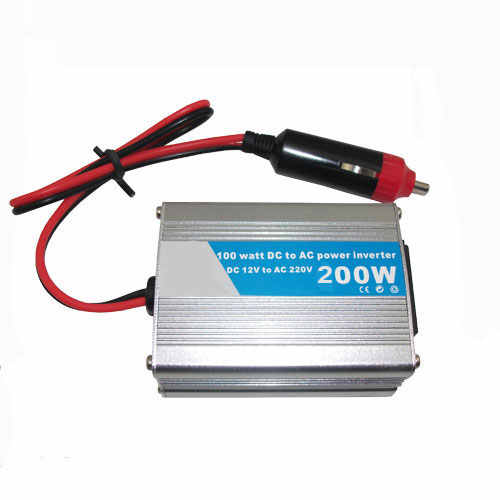 200W WATT DC 12V to AC 220V modified sine wave Portable Car Power Inverter Adapater Charger Converter Transformer