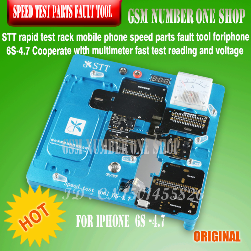 STT rapid test rack mobile phone speed parts fault tool foriphone 6S-4.7 Cooperate with multimeter fast test reading and voltage