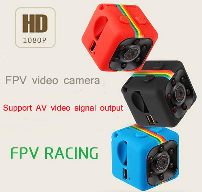 RC model aircraft quadcopter aerial FPV HD 1080P camera SQ11 mini DV Voice Video Recorder Action Camera Support TF Card slot