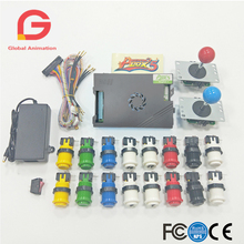 2 Player Arcade Mame Copy SAMWA Joystick + Happ Button And Original Pandora Box 5, 960 In 1  DIY Kit  For Arcade Game Machine цена и фото