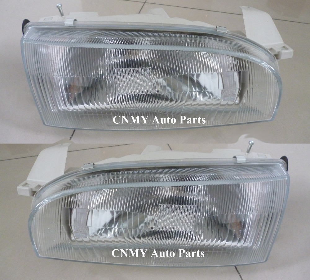US $16 0 |Glass lens Head lamps lights for 1991 96 Toyota Sprinter AE100  model-in Car Light Assembly from Automobiles & Motorcycles on  Aliexpress com
