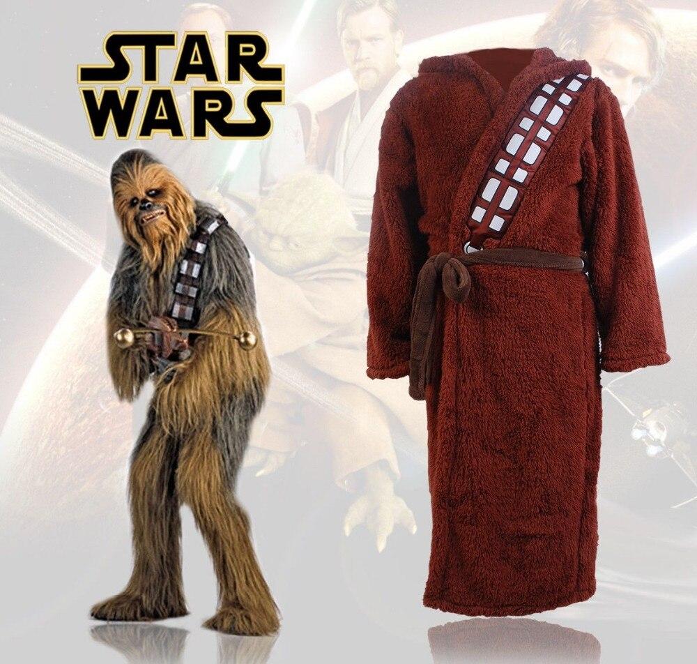 Лидер продаж, халат Chewbacca из фильма «Звездные войны», костюм для косплея, банный халат для взрослых и мужчин, карнавальный банный костюм на Хэллоуин