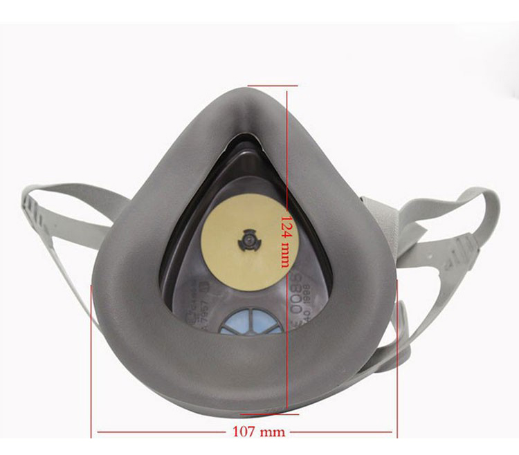 3M 3200 Atemschutzmaske Filter Baumwolle Staubdicht Antibeschlag und - Schutz und Sicherheit - Foto 5