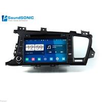 Android 4.4.4 для KIA K5 OPTIMA 2011 2012 2013 2014 автомобиля DVD GPS навигации навигатор Android Системы Авто Радио стерео