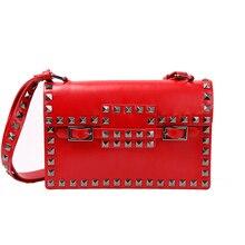 ใหม่ประดับด้วยเลื่อมสีแดงสีกระเป๋าHot Saleผู้หญิงC Lutchesกระเป๋าแบรนด์ที่มีชื่อเสียงไหล่ของMessenger C Rossbodyกระเป๋าN462