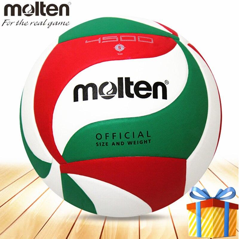 Molten volleyball ball voleibol official V5M4500 Compitition size 5 PU material pallavolo topu voleyball bola de volei 1