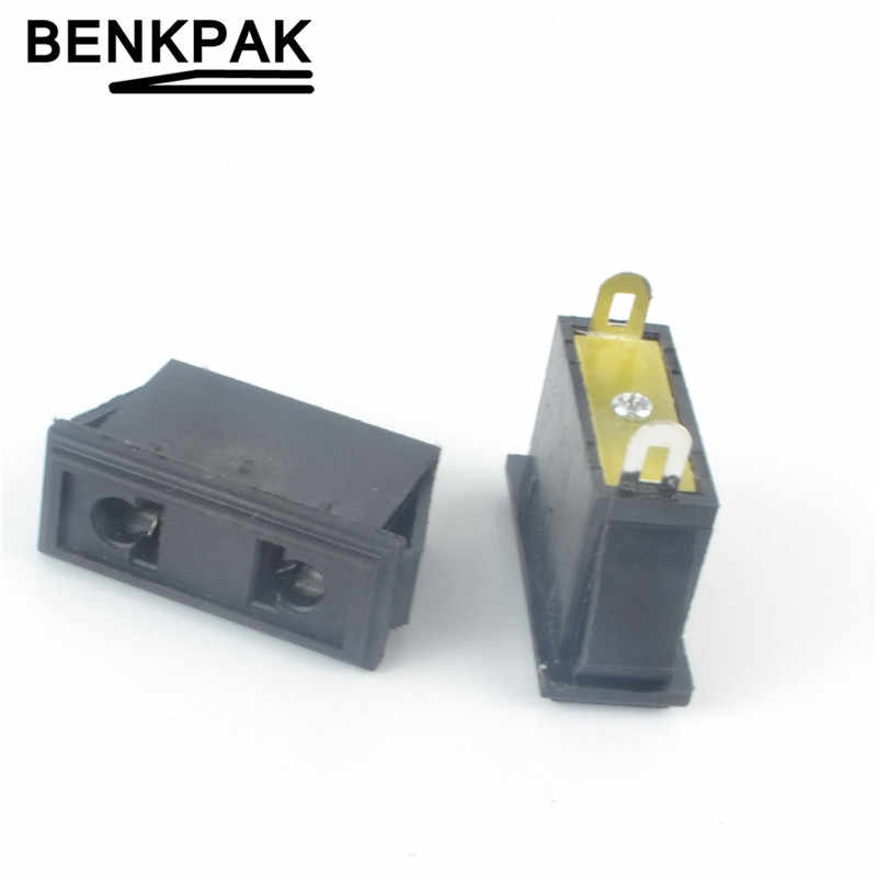 5 stks AC 250 v 10A 2 Pin Vrouwelijke Connector Stopcontact
