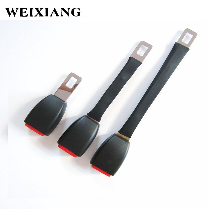 Metal Tongue Width 24.5mm Rigid Stem Car Seat Belt Extension Auto Belts Extender For Seatblet Clip Extender - E24 Safe Certified
