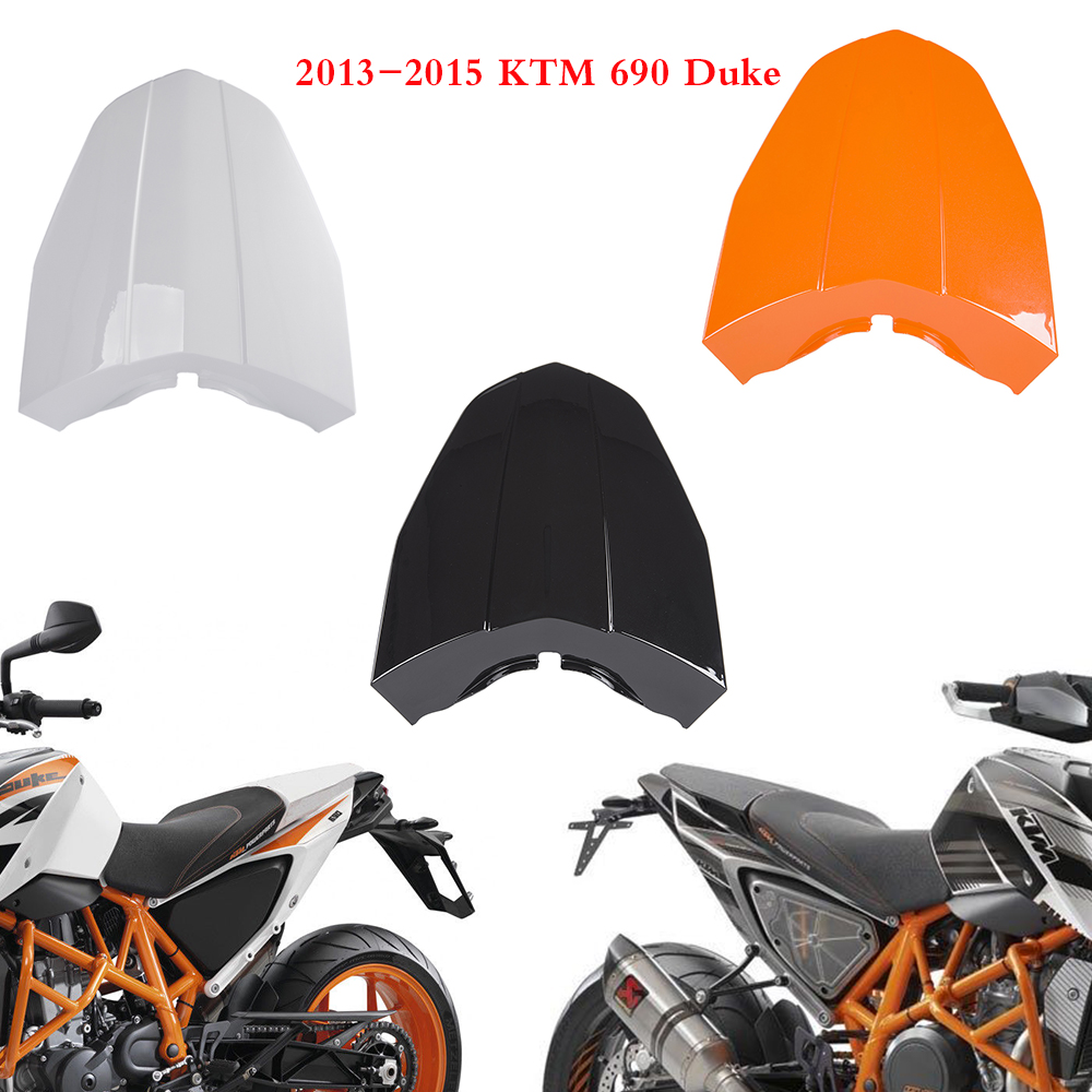 Motocycle Accessories Rear Tail Pillion Solo Seat Cowl Fairing Seat Cover For 2013 2014 2015 KTM 690 Duke
