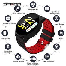 SANDA B2 Blood Oxygen New Smart Digital Watch Female Reminder Heart Rate Watches Calorie Step Beauty Blood Pressure Wristwatch