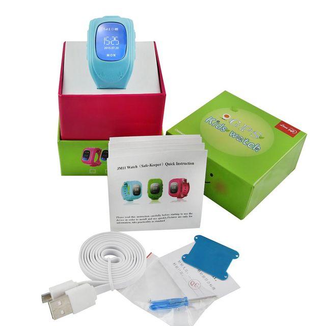 Q50 gps smart watch como regalo de cumpleaños los niños anti-perdida reloj sos llamada tarjeta sim inteligente bebé relojes para xiaomi huawei apple horas