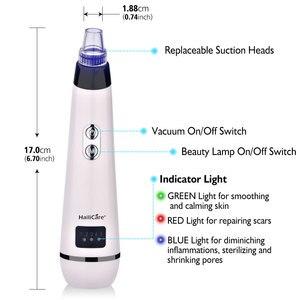 Image 4 - Blackhead Remover Skin Care Face Clean Pore Vacuum Acne Pimple Removal Vacuum Suction Facial Diamond Dermabrasion Tool Machine