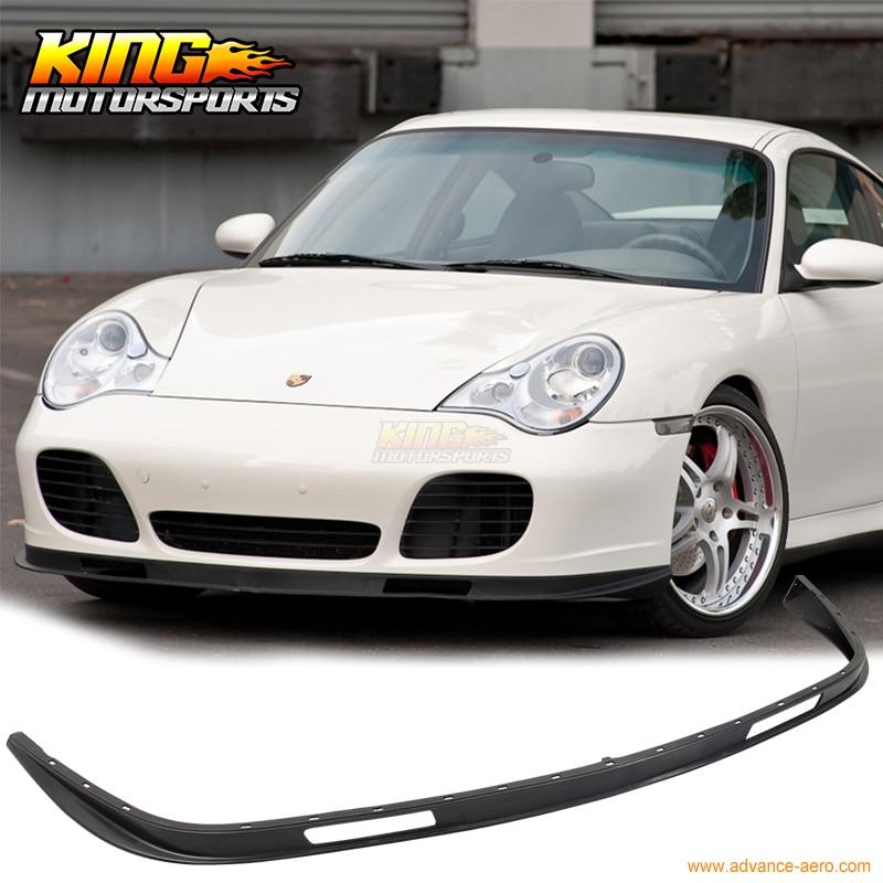 For 2001 2002 2003 2004 2005 Porsche 996 911 Coupe Turbo Carrera Front Bumper Lip Spoiler Bodykit for 2001 2002 2003 2004 2005 porsche 996 911 4s coupe turbo oe style no hole carrera front bumper lip spoiler