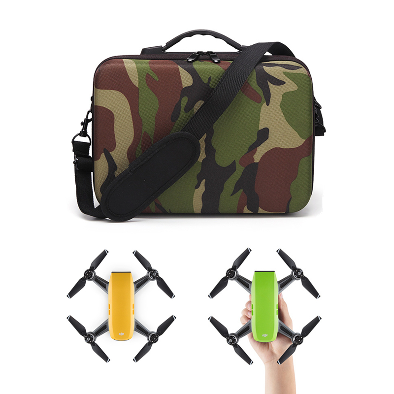 DJI Spark Bag DJI Mavic PRO Drone Case Camouflage Portable Handbag EVA Inner Suitcase Storage Box for DJI Mavic PRO Accessories sunnylife dji spark bag portable pc hardshell storage box protection handbag carrying bag protective suitcase cover for spark