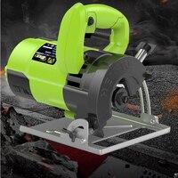 Carpintaria elétrica serra circular máquina de corte de madeira multi-função handheld pedra metal telha cortador de mármore máquina