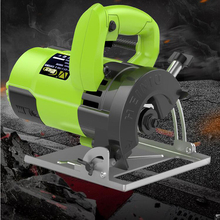 Electric Woodworking Circular Saw Wood Cutting Machine Multi-function Handheld Stone Wood Metal Tile Cutter Marble Machine