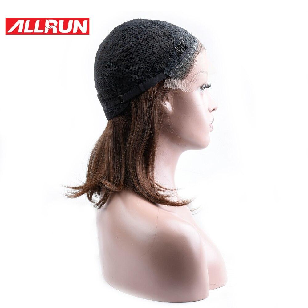 ALLRUN Βραζιλιάνα Μη Remy Hair # 4 Χρώμα 100% - Ανθρώπινα μαλλιά (για μαύρο) - Φωτογραφία 4