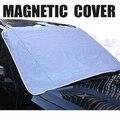 Auto MAGNÉTICA Cubierta de Nieve Del Parabrisas del Coche Sombrilla Parasol Shade Ciegos Frente Protector de Pantalla de la Ventana De Hielo y Escarcha