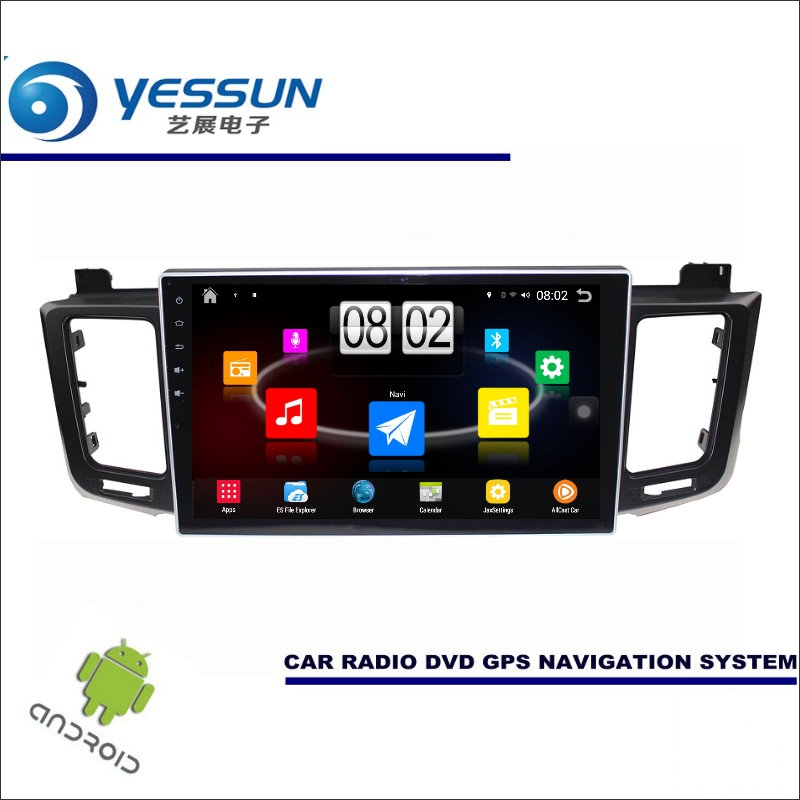 YESSUN Car Android Player Multimedia For Toyota RAV4 XA40 2013~2017 Radio Stereo GPS Map Nav Navi ( no CD DVD ) 10.1 HD Screen