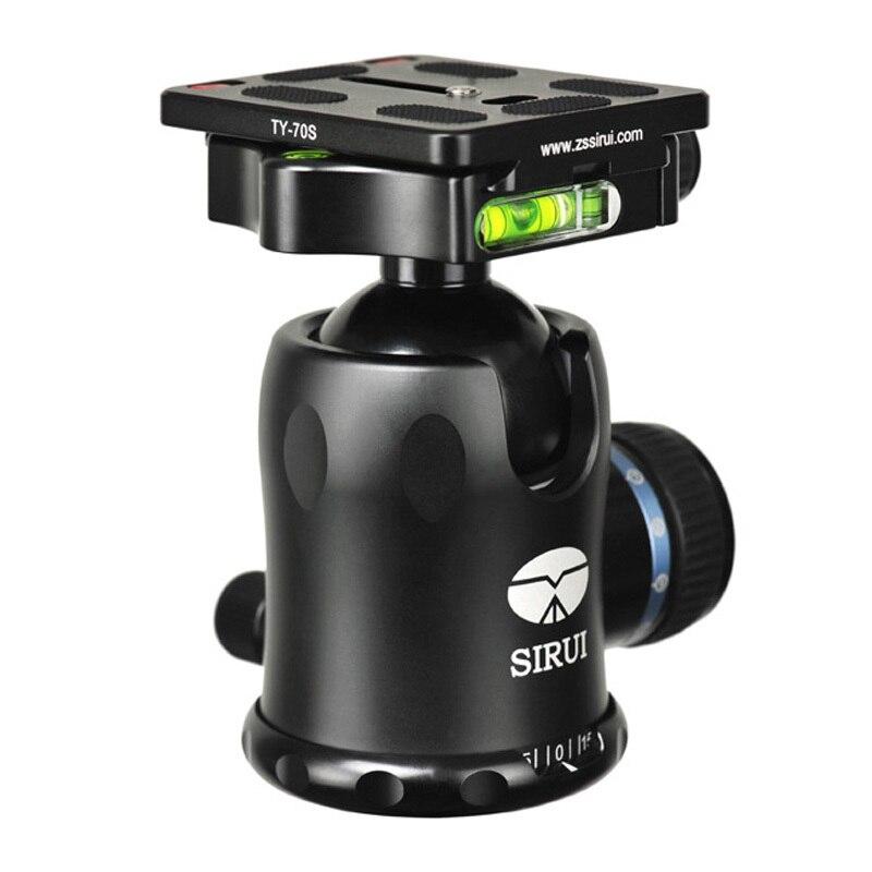 Sirui Mini 360 Angle panoramique Rotation Pro rotule trépied PTZ pour appareil photo reflex Unipod monopode trépied panoramique panoramique K30X