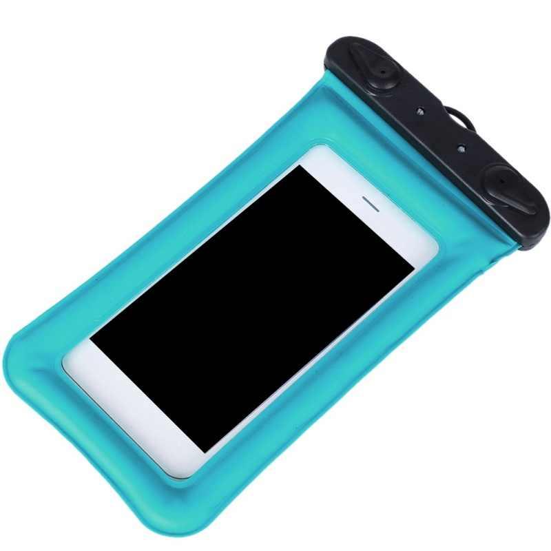 9 الألوان حقيبة سباحة للماء متعددة نمط صمام نوع مصغرة 6 بوصة للهواتف الذكية تعمل باللمس حقيبة الهاتف الرعاية الهاتف حقيبة