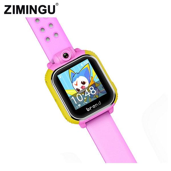GPS Smart Watch with Wifi Touch Screen Call Location Device Tracker for Kid Safe Anti-Lost Monitor Fashion Cute Eco Friendly городской рюкзак deuter giga 28 л черничный 80414 5032
