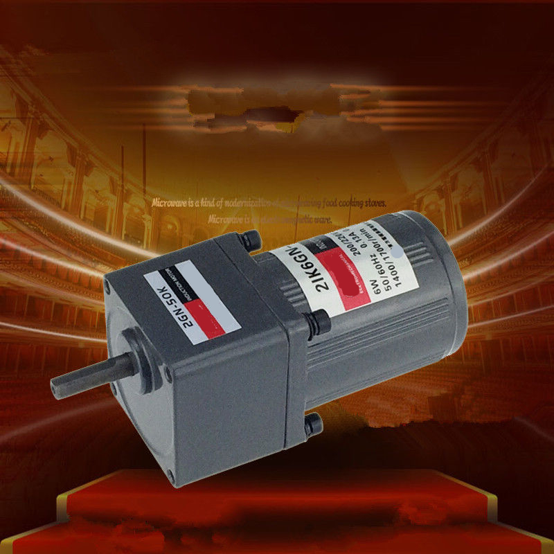 Single Phase 220V AC Vertical Micro Gear Motor Governor 6W 2IK6GN Constant speed High Torque bosch waw28740oe