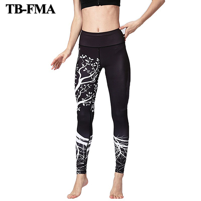 37f0202d49 Women Sexy Yoga Pants Dry Fit Elastic Fitness Sport Pants Fitness Gym Pants  Workout Running Tight Sport Leggings Female Trousers