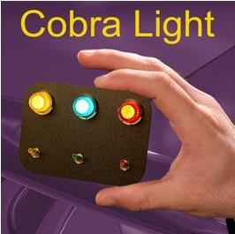 2016 New Arrivals Cobra Light - Stage Magic,Card Magic Trick,street,gimmick,props,mentalism free shipping