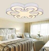 Новые акриловые современные светодиодные потолочные светильники для гостиной спальни плафон домашнее светодиодное освещение потолочный