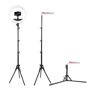 Image 4 - Fosoto Tripod Light Stand &1/4 Screw portable Head Softbox For Photo Studio Photographic Lighting Flash Umbrellas Reflector