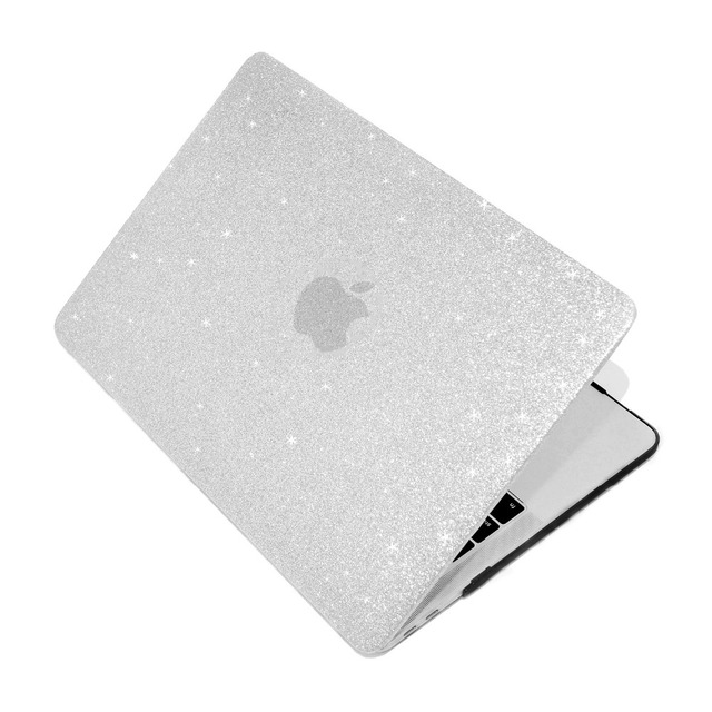 Shine Glitter Hard Laptop Case For MacBook Pro Retina Air 11 12 13 15,2018 for mac Air/Pro 13 15 inch A1466 A1708 A1932 shell