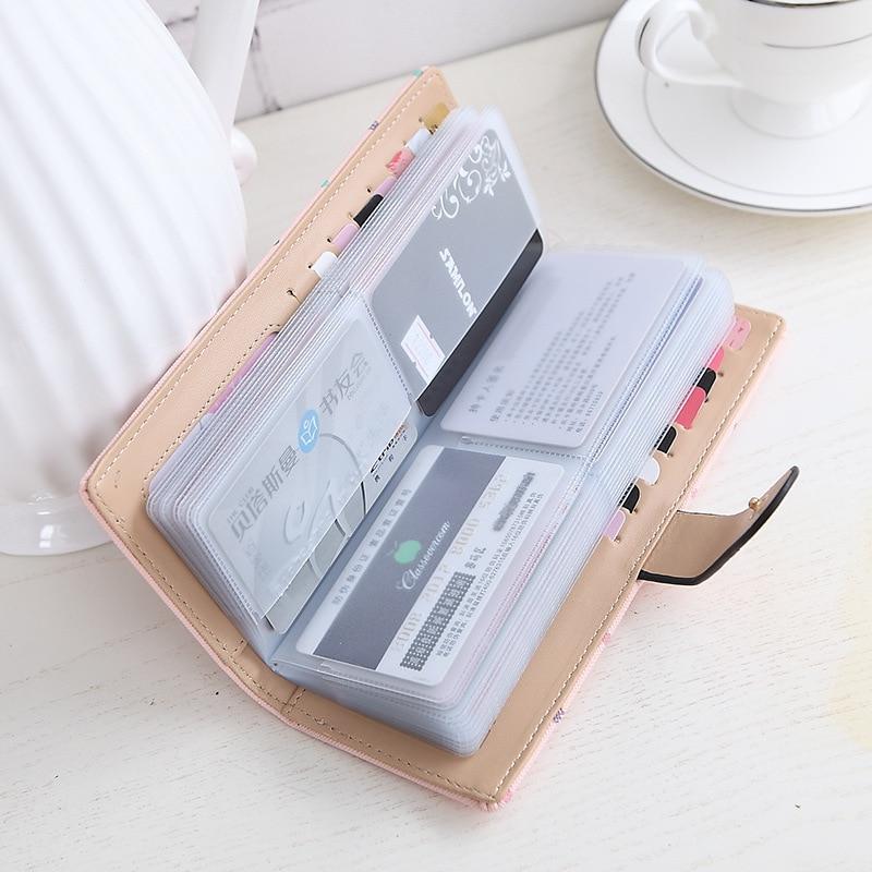 2017 women Card credit wallet two-foldeds