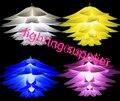 Menor preço na venda DIY Moderna lily lotus luz Pingente pinha criativo novel led e27 35/45/55 cm enigma do iq lâmpada branco