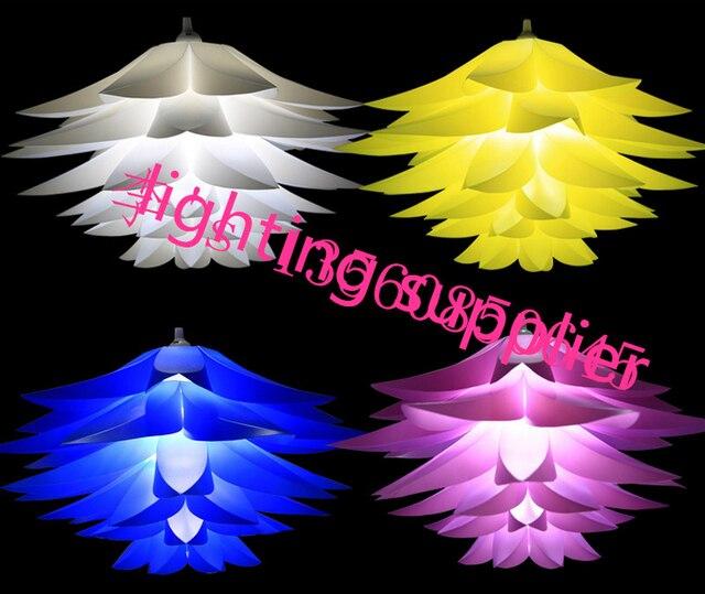 Moderne Pendelleuchten DIY Kit Lilie Lotus Lampe IQ Puzzle LED ...