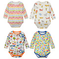 Super Cotton Costume Baby Boy Baby Girls Clothes Bodysuit Baby Pack of 4-Pieces