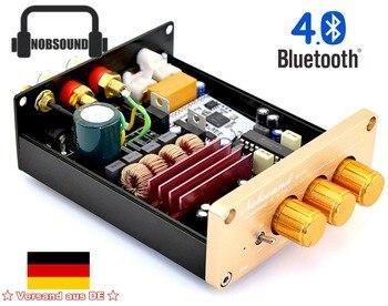 Nobsound NS-07G Bluetooth 4,0 HiFi TPA3116 2,0 канальный цифровой усилитель аудио с ЕС Мощность адаптер