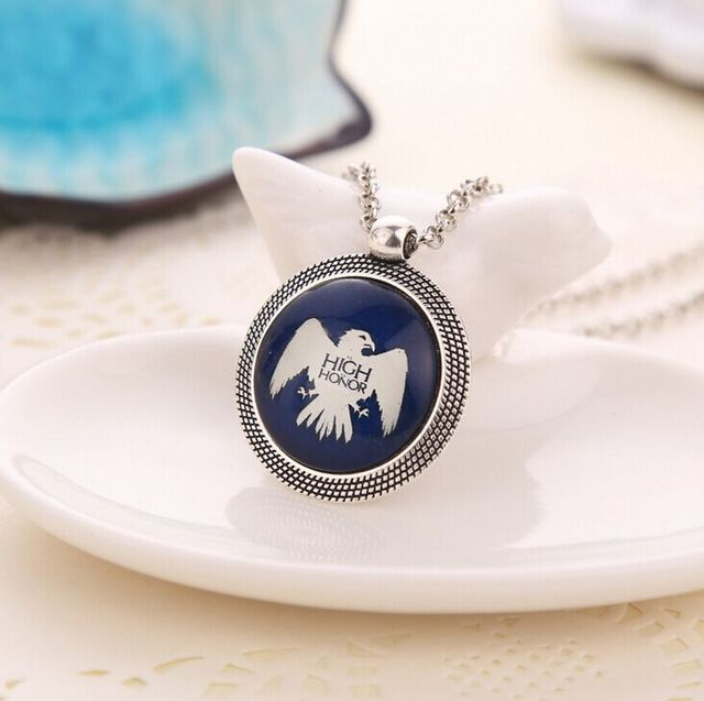 Game Of Thrones Stark Baratheon Arryn Greyjoy Heraldic Collares Necklace