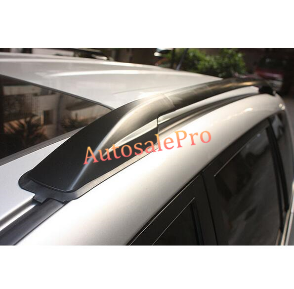 North American Model Top Roof Rack Side Rails Bars Luggage Carrier For Toyota Rav4 2006 07 08 09 10 11 2012 Black factory style car roof rack rails bars black for toyota rav4 2006 2007 2008 2009 2010 2011 2012