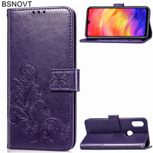 For Xiaomi Redmi Note 7 Case Soft Silicone Leather Wallet Phone Bag Cover BSNOVT